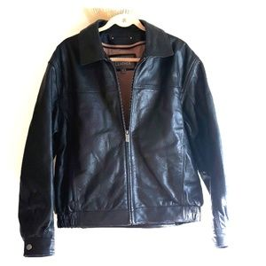 Authentic Wilsons Leather Bomber Style Jacket